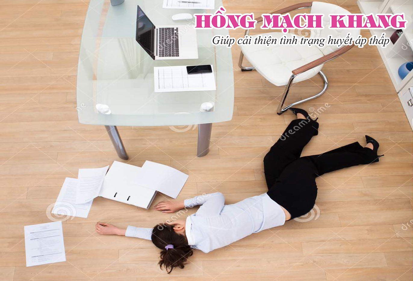Ngất xỉu thường xuyên là hậu quả của huyết áp thấp